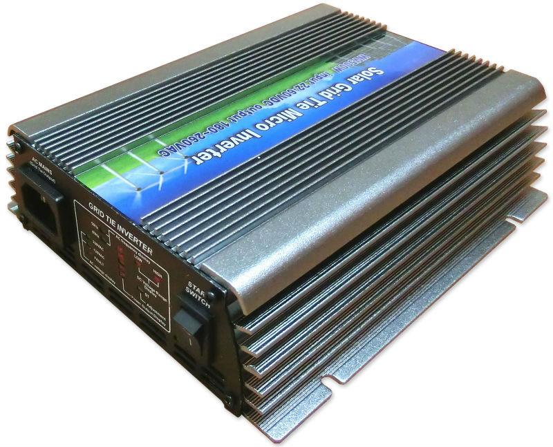 500W Solar Grid Tie Pure Sine Wave Inverter Power Supply,22-60VDC,90-140VAC/180-260VAC,50Hz/60Hz For Solar System Free Shipping(China (Mainland))