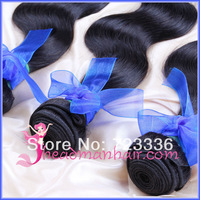 Brazilian Virgin Hair Body Wave Hair Weave Hair Extensions Unprocessed Hair 3pcs/lot Queen Hair 8--28''In Stock Free Shippinp!
