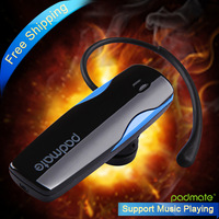 Free shipping Padmate BH203  stereo earphone wireless headphone bluetooth headset  for all mobile phone Samsung HTC