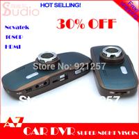 Free Shipping,2013 New A7 car Blackview dvr Navatek 1080P Full HD Video Recorder with G-Sensor + H.264+ HDMI Super vision