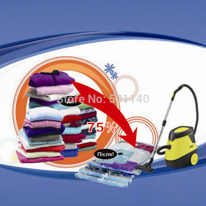 Vacuum Compression Bags Storage bag 6PS/Lot Vacuum Space Saving compressed bags Home products 5 Sizes S /M /L /XL /XXL(China (Mainland))