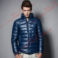 Free shipping 2013 new autumn winter Waterproof  PU men jacket,male casual coat , fashion outdoors down jackets,sport suit