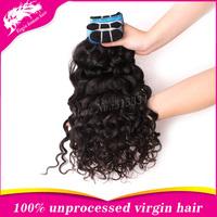 Free shipping hot selling  virgin peruvian hair extension mixed length 3pcs lot peruvian franch curly