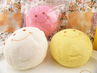 New 10cm Kawaii Jumbo Squishies Bag Charm Wholesale Free Shipping Color Large Decompress Vent Toys Large Rare Squishy Bun Straps