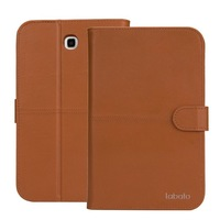 For Samsung Galaxy Tab 3 7.0 P3200 P3210 , Wallet Cover For samsung tab 3 7 Case Genuine Leather Exquisite Workmanship Free Ship