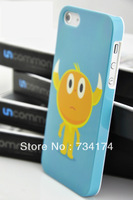 retail  wholesale fashion phone cover for Iphone 5S 5 case ABS Hard Slim 37 series Water/dirt/shock proof