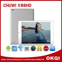"7.9 "" Chuwi V88HD mini pad Android 4.2 tablet pc 1024x768px RK3188 Quad Core 1.6GHz Dual Camera OTG G-sensor(China (Mainland))"