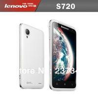 100% Original Lenovo S720 4.5 Inch Dual Core 1024MHz  Dual SIM  Android 4.0  Multi-language Smart Phone with Free Phone Case