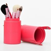 Zoreya 7 Pcs Loose Powder Blush Foundation Make Up Tools Tube Kit 5 Colors Makeup Brush Set