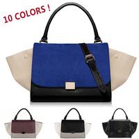 Wholesale 2014 New Fashion High Quality Big Ears One Shoulder Women's Branded Handbag Messenger Smiley Bag Swing Bag