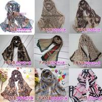 10% mix color 2pcs Scarf women 2014 fashion style designer summer spring autumn chiffon faux silk small scarves shawl cape wrap