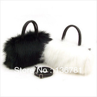 2014 new Arrival design Rabbit fur pu women bags&Spring Fashion Woman Handbag&Shoulder Bags Fur Mini Messenger Bag 25*15*10cm