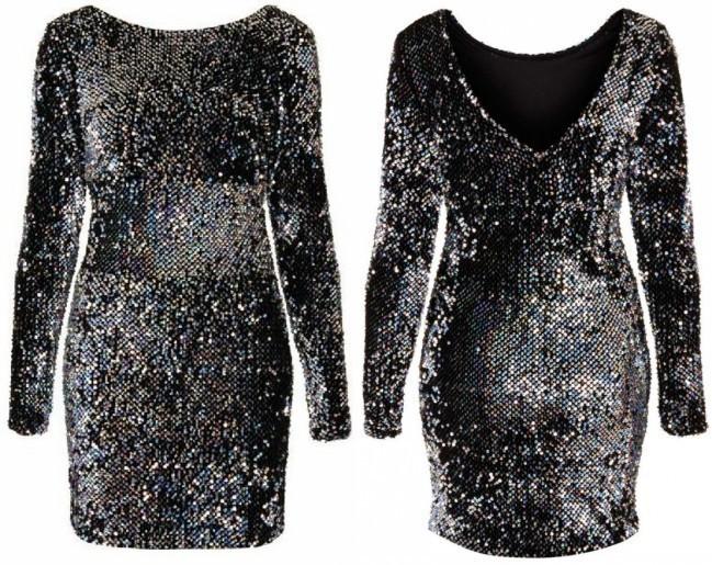 Plus Size Sequin Bodycon Dress Size Sequins Dresses Long