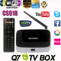 XBMC Fully Loaded MK888 CS918 Q7 Android TV Box RK3188 Quad Core Mini PC Smart IPTV Media Player With Bluetooth WiFi Antenna