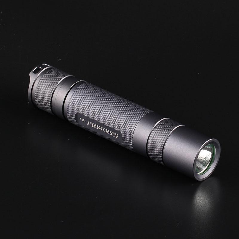 Konvoi s2+ grau cree xml2 u2-1a edc führte taschenlampe, fackel, laterne, lanterna fahrrad, Selbstverteidigung, camping licht, lampe, für fahrrad