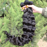 SunnyQueen hair products 5A Brazilian virgin hair loose wave 3/4pcs lot brazilian loose curl wave natural black color weaves