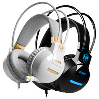 New Somic G911 Stereo Gaming headset with Microphone game earphones and headphone studio PC Headset Highquality  noise isolating