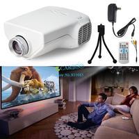 2014 New Mini 1080P HD Multimedia LED Projector Home Cinema AV TV VGA HDMI Video In Stock Promotion TV B2 OS000251