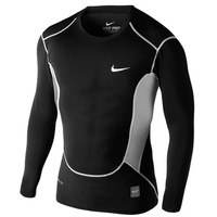 NIKE 2014 NEW Men's Tight elastic Full tshirts Men sports and leisure Tshirts T-shirts for men Free Shipping!