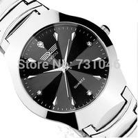Hot Low discount Quartz watch Luxury business Women men Wristwatches Steel belt Quartz Watches Free shipping electronic 2015 new