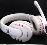 Good High quality Somic G927 YY 7.1 Surround Gaming Headset Stereo Game Headphone with Mic Heavy Bass HIFI Earphones White/Black