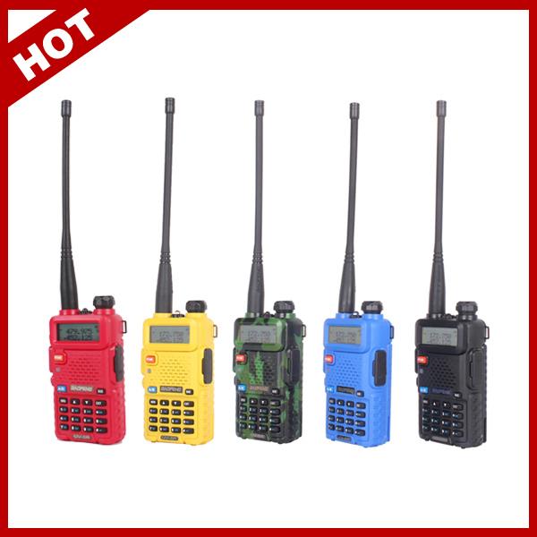 HOT Portable Radio Two Way Radio Walkie Talkie Baofeng UV-5R for vhf uhf dual band ham CB radio station Original Baofeng uv 5r(China (Mainland))
