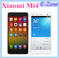 "Original Xiaomi Mi4 M4 3G WCDMA Qualcomm Snapdragon 801 Quad Core 5"" 1920X1080P 3GB RAM 16GB ROM 13MP MIUI V6 Mobile Phone"