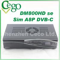 5pcs Multimedia Dreambox DM800HD se with SIM A8P Security Card 800 HD se DVB-C HD Satellite Receiver