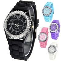New Designer Sports Brand Unisex Wristwatches Quartz Watch Button Silicone Watch Jelly Watch For Women Men SV19 3233