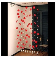 Rustic style Beaded Curtain for doors and doorways Living room Curtain and home decoration