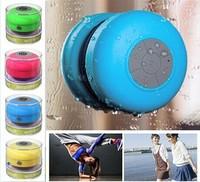 2014 New Arrival Waterproof Bluetooth Shower Speaker Portable Wireless Spearker Mini Car Spearker Handsfree Bluetooth Receiver