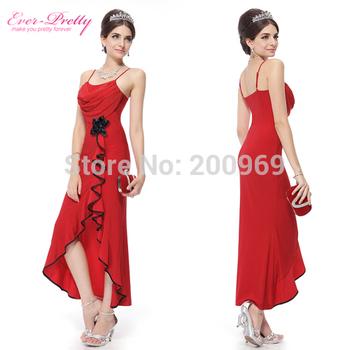 80679  Formal Gown Красный Dress Mesh And Flower Модный Длинный Evening Dress Prom Dresses