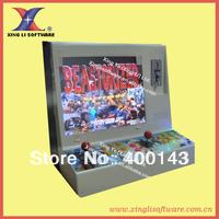 19'LCD mini game machine + 80G HDD 2100 in 1 multigame board, hard metal