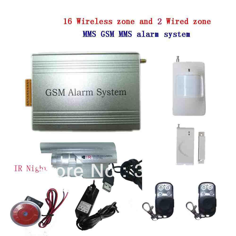 achetez en gros syst me d 39 alarme gsm avec appareil photo en ligne des g. Black Bedroom Furniture Sets. Home Design Ideas