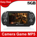 4.3 Inch PMP Handheld Game Player With 4GB MP3 Video Camera TV OUT Game Console Multi-Function Player 10Pcs/Lot Free Shipping