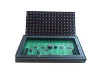 Outdoor P16 Bi-Color  Red+Green LED Display Module , P16 Bi Color LED Module