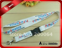 sublimation printed promotional carabiner lanyard for ID CARD HOLDER  AL2351 with metal hook base 2 FREE SHIPPING Base 2
