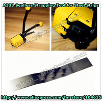 A333 Manual buckle-free steel strapping tool/strapping machine  for width13-19mm