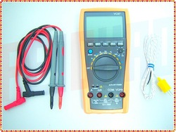 F01729 VC97 31/2 Auto range Digital multimeter analog bar AC DC R C F Temp 3 3/4,compared with FLUKE 15B(China (Mainland))