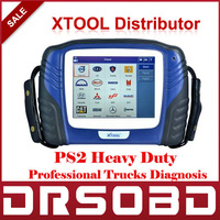 Professional PS2 truck diagnostic tool PS2 Heavy Duty 100% original+Free online-update for 2 years