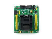 STM32 Programming Adapter Test Socket for LQFP64 QFP64 QFP Package 0.5mm Pitch =STM32-QFP64