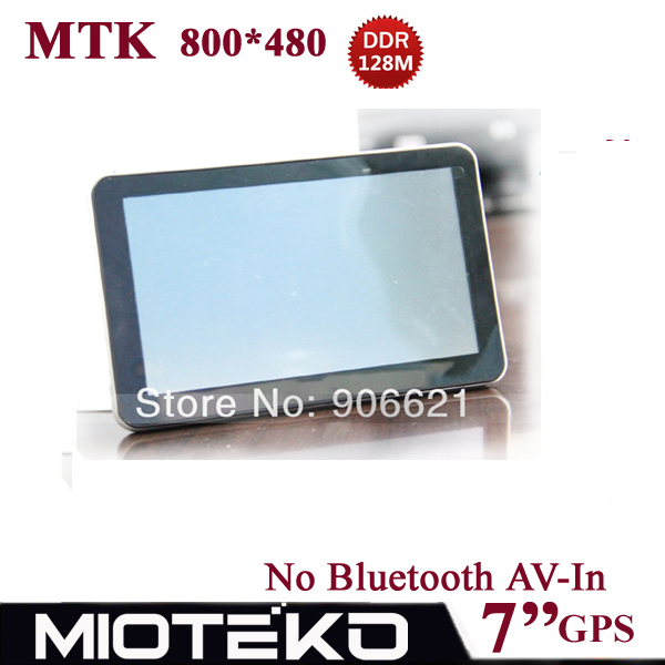 Improved!!! 7 inch Free 4GB Car GPS Navigation Navigator 800*480,MTK,DDR128M / 4GB,FM,Naivtel(Russia,Ukraine,Belarus,Kazakhstan(China (Mainland))