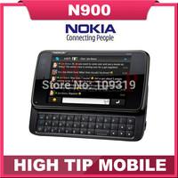 Nokia N900 original unlocked phone Support QWERTY Russian keyboard GSM 3G GPS WIFI 5MP 32GB memory free shipping Refurbished
