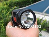 lithium battery IP65 free shipping cordless LED mine headlamp mine cap lamp 10