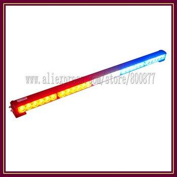 High power 30 LED Emergency Car Traffic Advisor, 35 inch, 7 flash patterns Strobe bar light (SA-618-5)