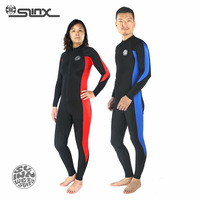 Slinx SLIMAX unisex lycra wetsuit for diving swimming snorkeling surfing waterskiing PWC beach sunblock jellyfish proof  UPF 50+
