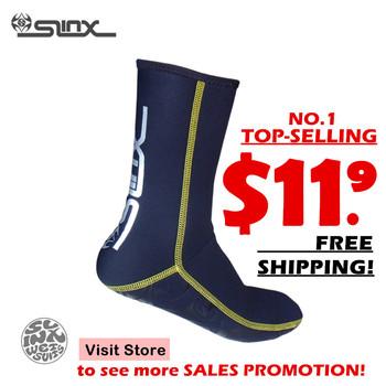 Slinx Socks 1130 3mm neoprene socks diving socks diving boot scuba diving wetsuit prevent scratches warming