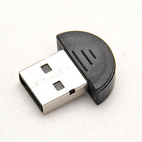 free shipping Bluetooth USB 2.0 Dongle Adapter smallest bluetooth adapter  V2.0 EDR USB Dongle 100m PC Laptop  #9370