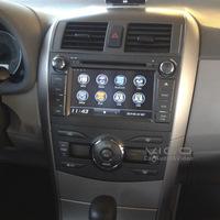 Car Stereo GPS Navigation for Toyota Corolla 2007-2011 Auto Multimedia Headunit Sat Nav Autoradio Radio RDS DVD Player Bluetooth