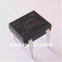 DB107G ,Whole Sale.new and original .Diode, 1A, 1000V, Glass Passivated Bridge Rectifier.